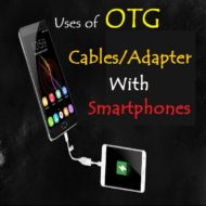 Creative Ways To Use OTG Cable/Adapter With Smartphones
