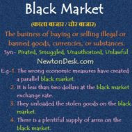 Black Market – Buy or Sell Illegal or Banned Goods