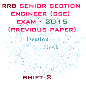 RRB SSE (Senior Section Engineer) Exam 2015 Shift-2