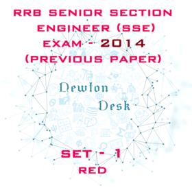 RRB Senior Section Engineer Exam Paper 2014 Set-1