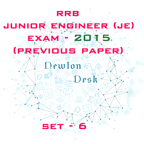 RRB Junior Engineer Exam Paper 2015 Set-6