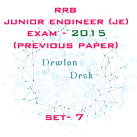 RRB Junior Engineer Exam Paper 2015 Set-7