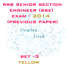RRB Senior Section Engineer Exam Paper 2014 Set-3