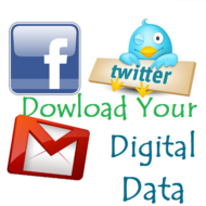 Download Your All Facebook, Twitter and Gmail Data With One Click