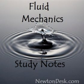 Fluid Mechanics Study Notes (Hand Written)