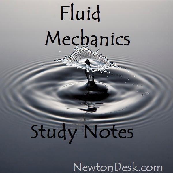 fluid mechanics handwritten study notes