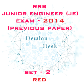 RRB Junior Engineer Exam Paper 2014 Set-2