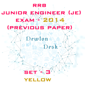 RRB Junior Engineer Exam Paper 2014 Set-3