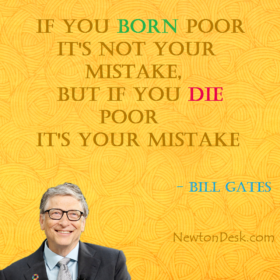 If You Born Poor It's Not Your Mistake