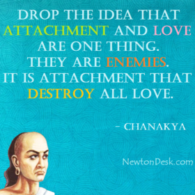 Drop The Idea That Attachment And Love