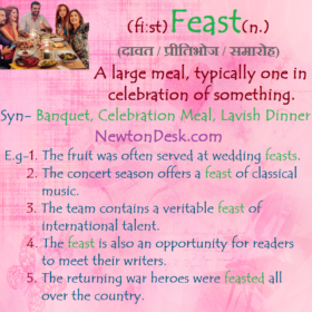 Feast – A Large Meal