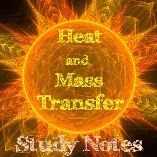 heat and mass transfer notes