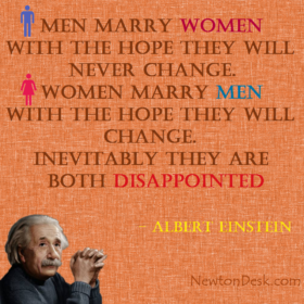 Men Marry Women With The Hope