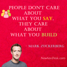 People Don't Care About What You Say