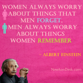 Women Always Worry About Things