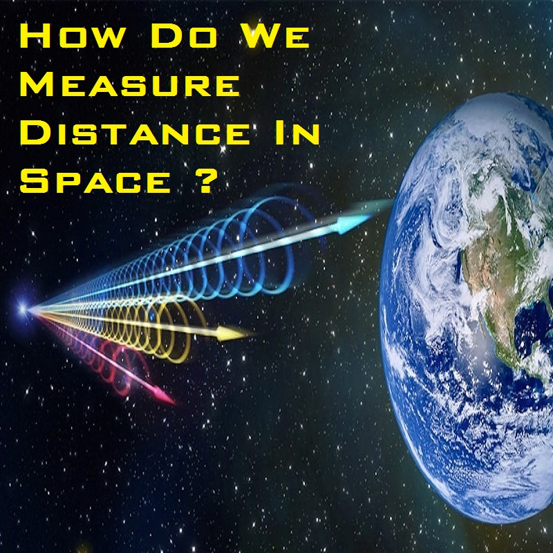 how do measure distance in space