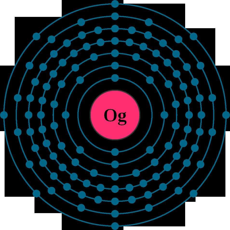 oganesson electron configuration