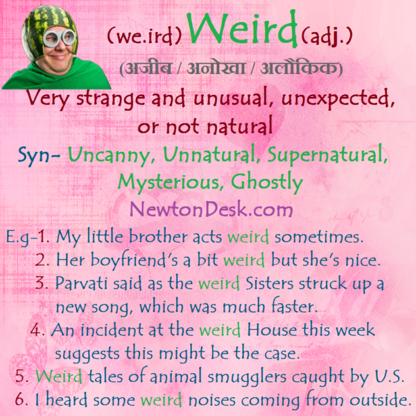 Weird – Very Strange And Unusual
