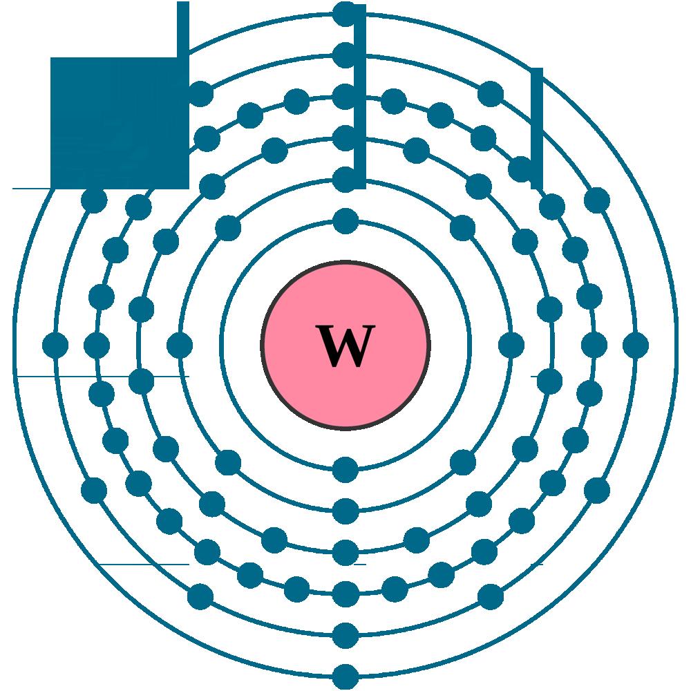 Tungsten electron configuration