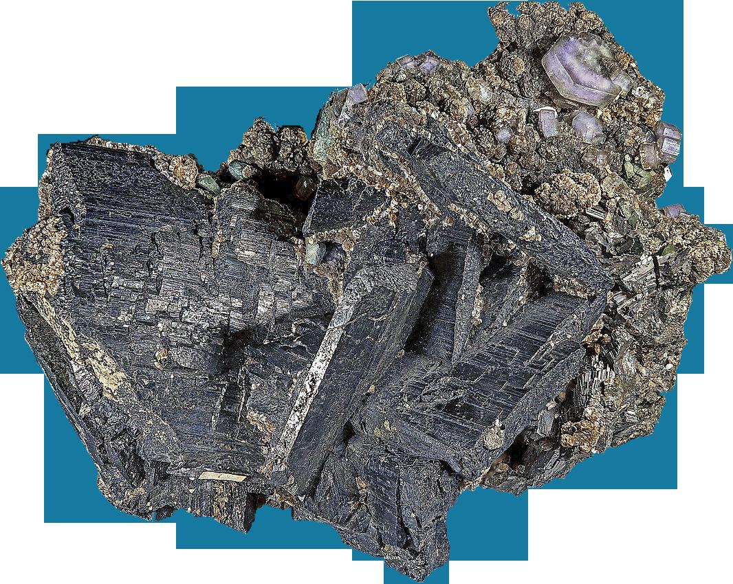 Wolframite mineral
