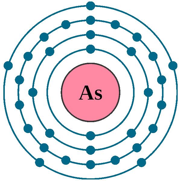 Arsenic electron configuration