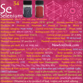 Selenium Se (Element 34) of Periodic Table