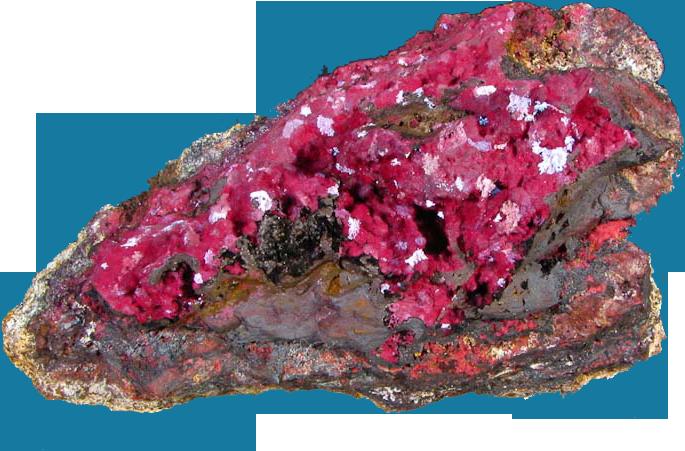 Cuprite mineral