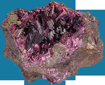 Erythrite mineral