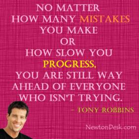 No Matter How Many Mistakes By Tony Robbins