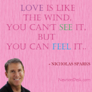 Love Is Like A Wind By Nicholas Sparks