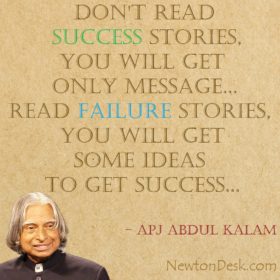 Don't Read Success Stories By APJ Abdul Kalam