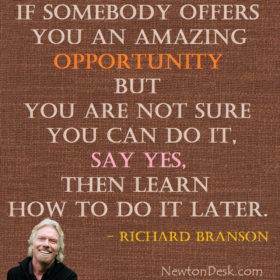 If Somebody Offers You An Amazing Opportunity