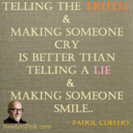 Telling The Truth And Making Someone Cry