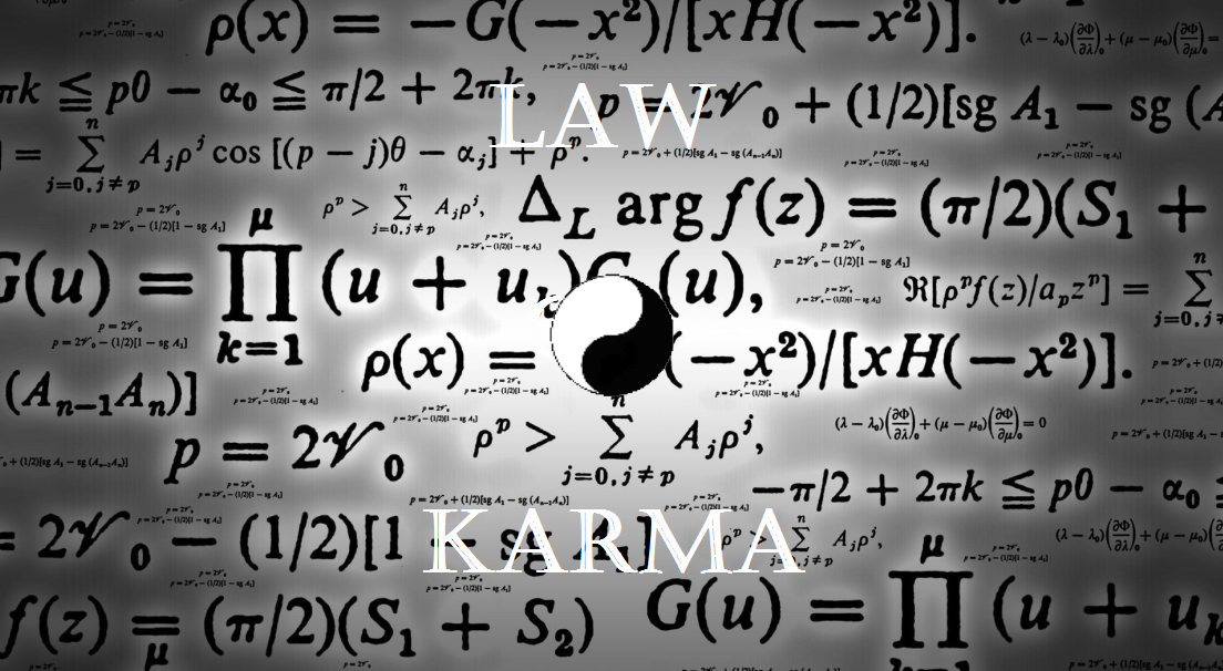 mathematical prove of karma