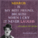 Mirror Is My Best Friend By Charlie Chaplin