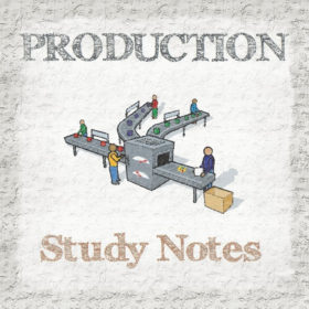 Production Engineering Study Notes (Handwritten)