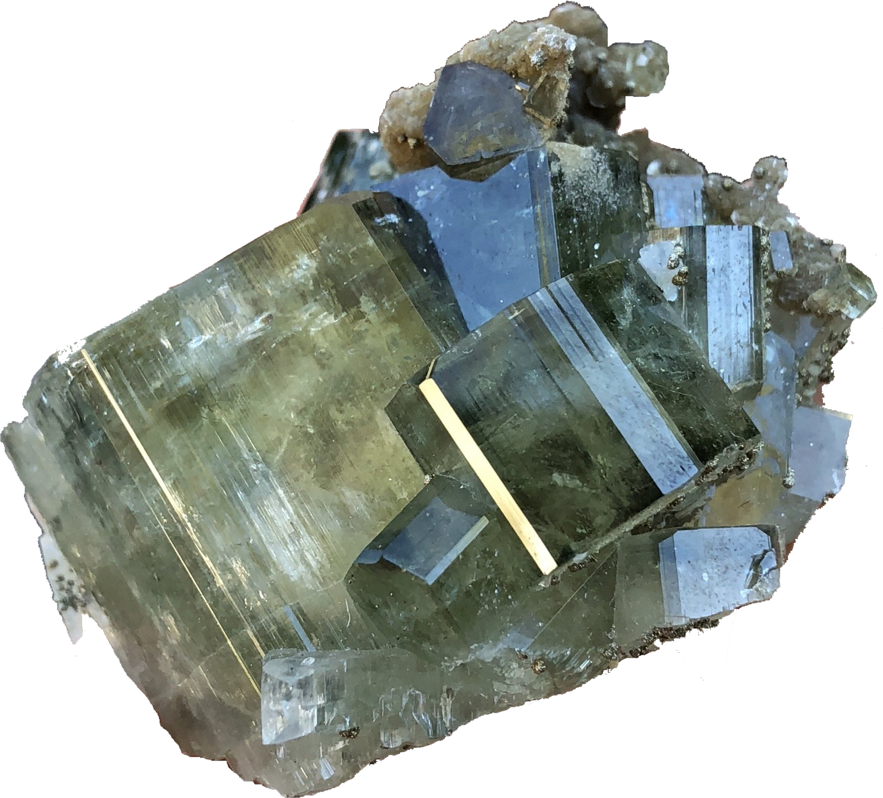 Fluorapatite Crystal mineral