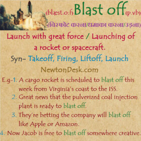 Blast off Meaning – Launch with Great Force