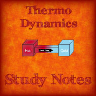 Thermodynamics Engineering Study Notes (Hand Written)