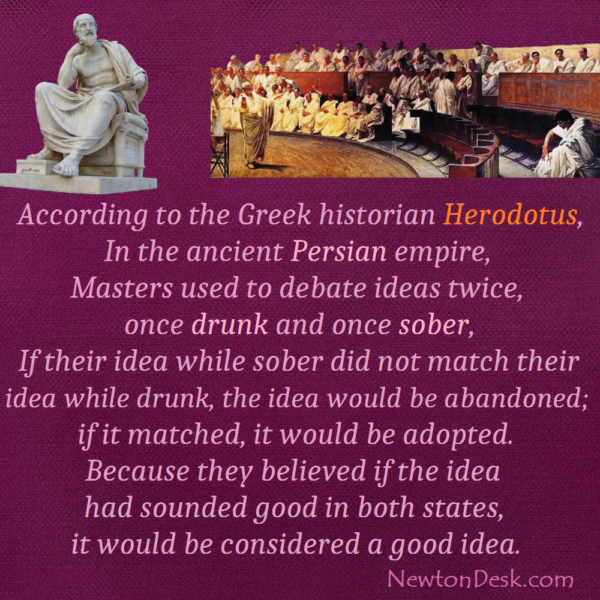Ancient Persian Empire Facts About Decision By Herodotus