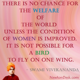 There Is No Chance For The Welfare By Swami Vivekananda