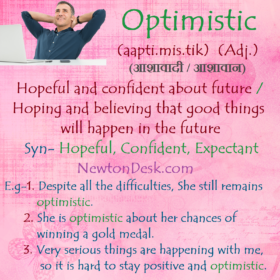 Optimistic Meaning – Hopeful and Confident About Future
