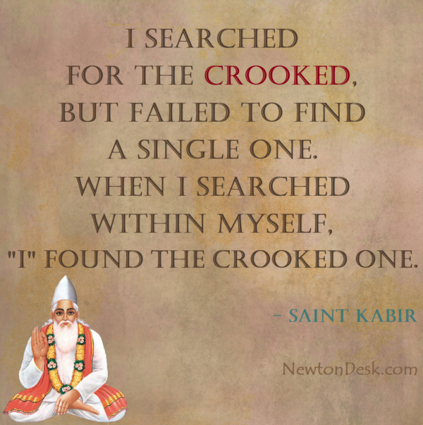 I Searched For The Crooked – Bura Jo Dekhan Mein Chala