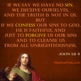 If We Confess Our Sins To God, He Forgive Us – 1 John 9 Verses Quotes
