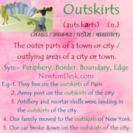 Outskirts Meaning – Outlying Areas of A City or Town