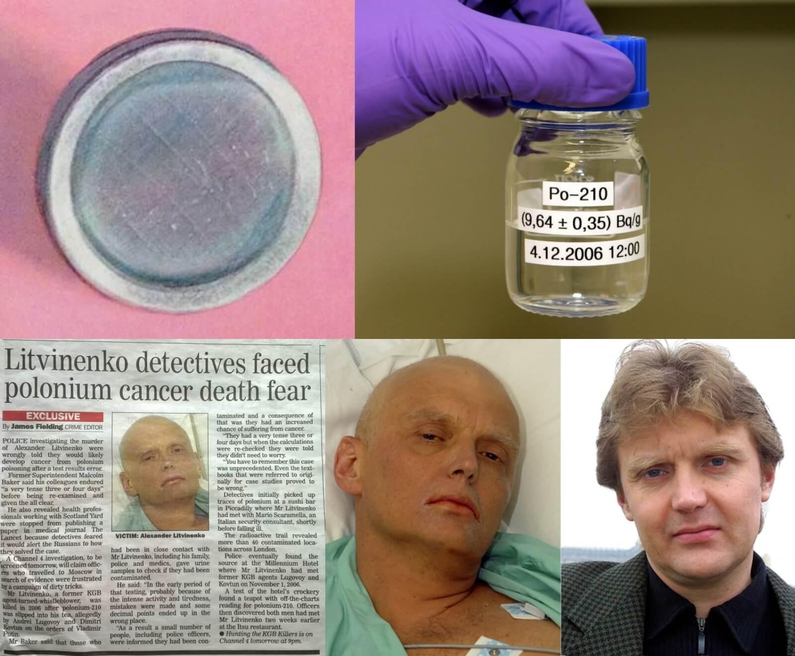 Polonium deadly poison