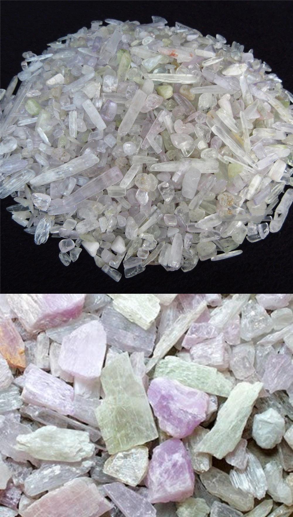 Spodumene or Kunzite mineral