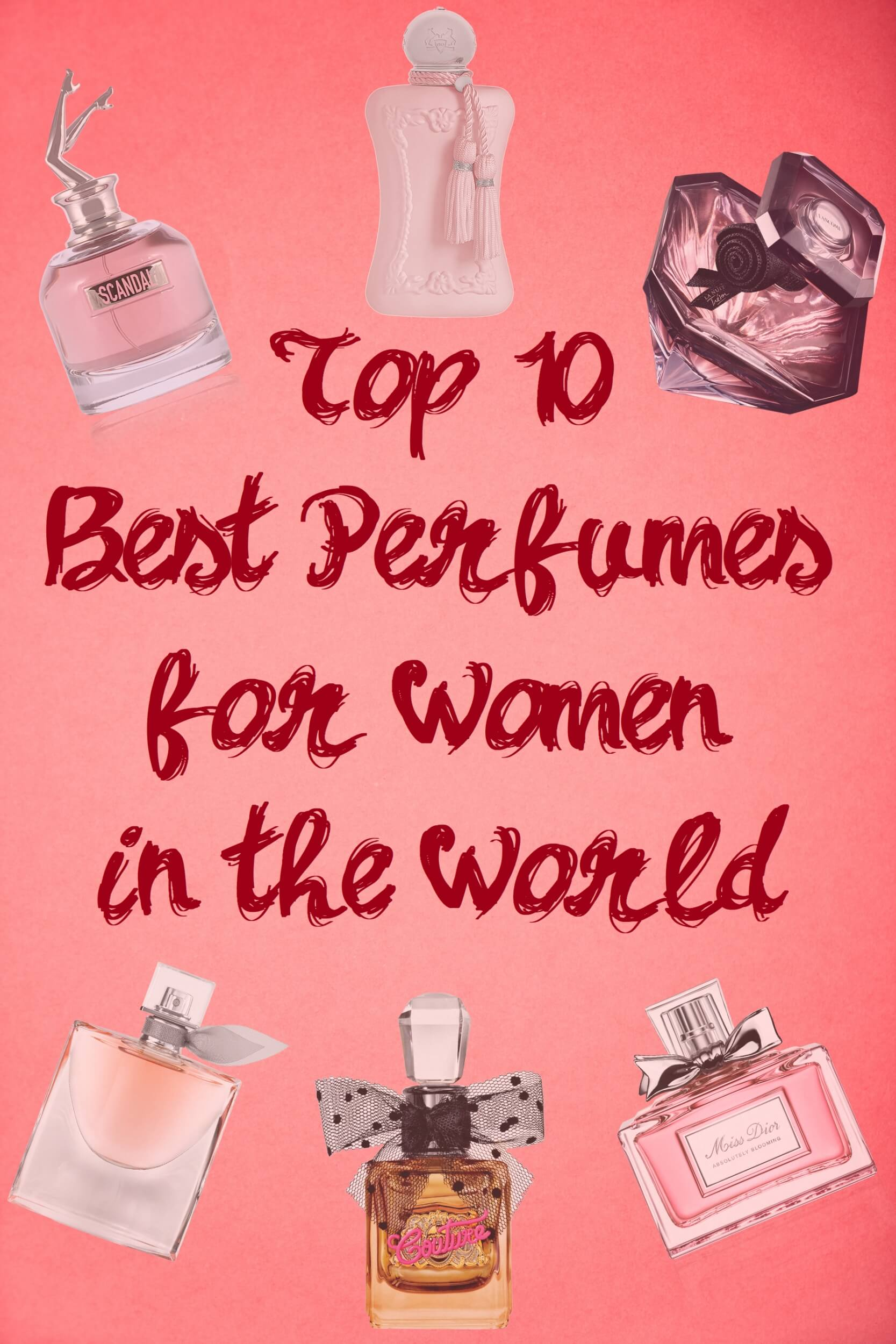 best perfumes for women in the world