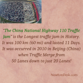The China National Highway 110 Traffic Jam
