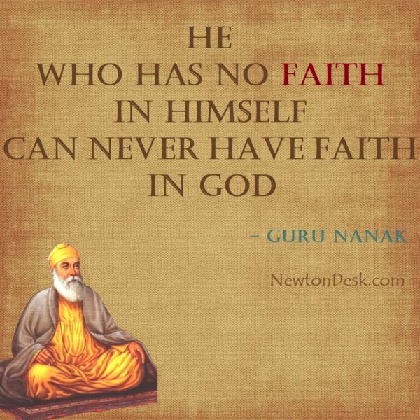 He Who Has No Faith In Himself – Guru Nanak Says
